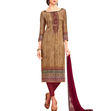 Crepe Fabric Salwar Suit