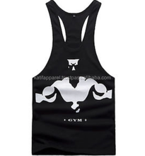 Customized Tank top. men singlet, y back stringer