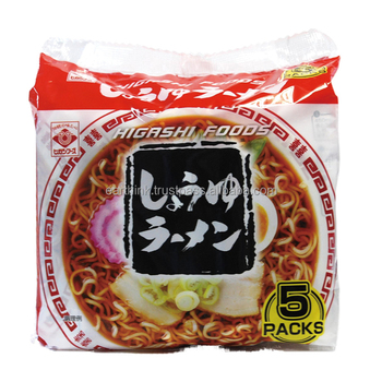japanese food wholesale / delicious Japanese Shoyu (soy sauce) Ramen Noodles 78.1g x 5 servings