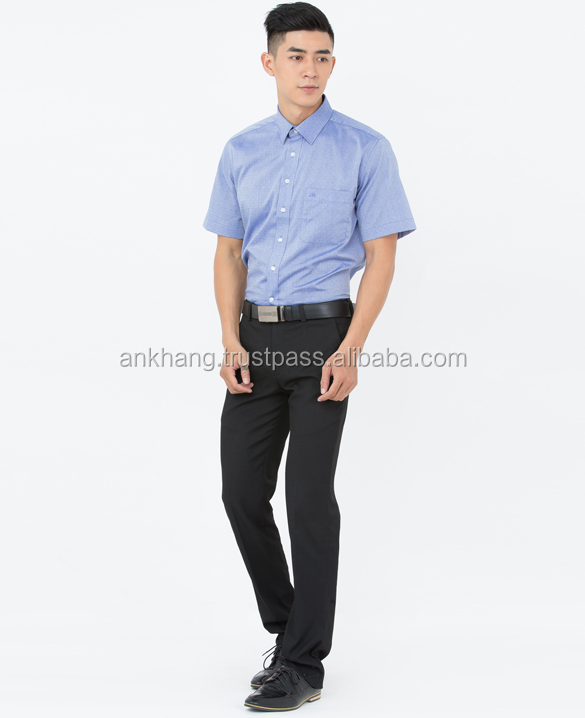 High quality shirt for men polyester spandex
