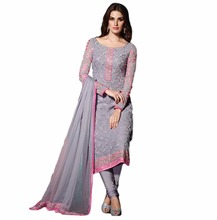 Salwar kameez Designs / Latest Decent Casual Wear 2017 Dress material /Latest Women Pakistani Semi-Stitched (salwar kameez Suit)