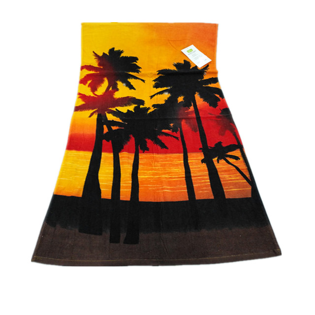 Cheap wholesales promotional turkish woven sublimation jacquard sand free 100% cotton custom beach <strong>towel</strong> printed logo