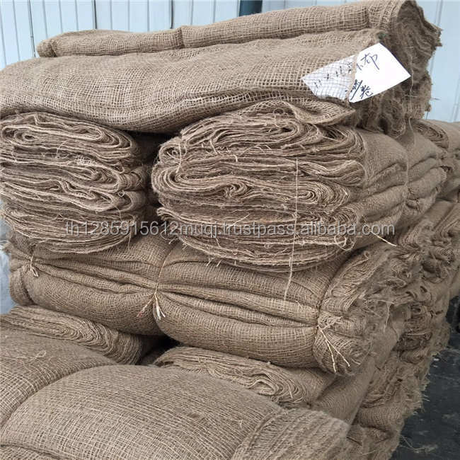 Hot Sale High Quality large jute hessian gunny sack bag for agriculture