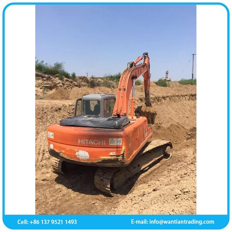 Modern selling factory hitachi amphibious used excavator