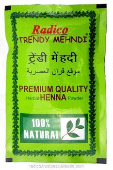 herbal henna hair color powder