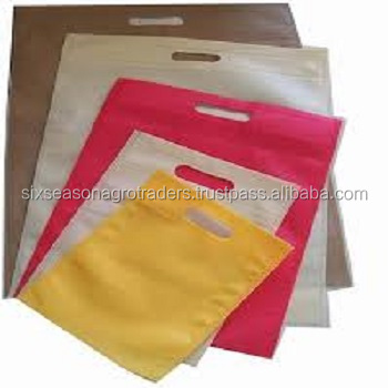 Promotional Custom non woven shopping bag with color full logo printing on full set of bag