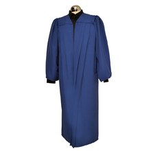 Premium Fully Fluted Academic Gown Navy Blue
