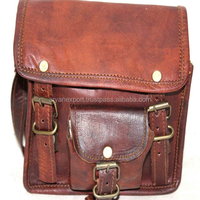Real Goat Leather Small Size Ladies Handbag Shoulder And Sling Bag
