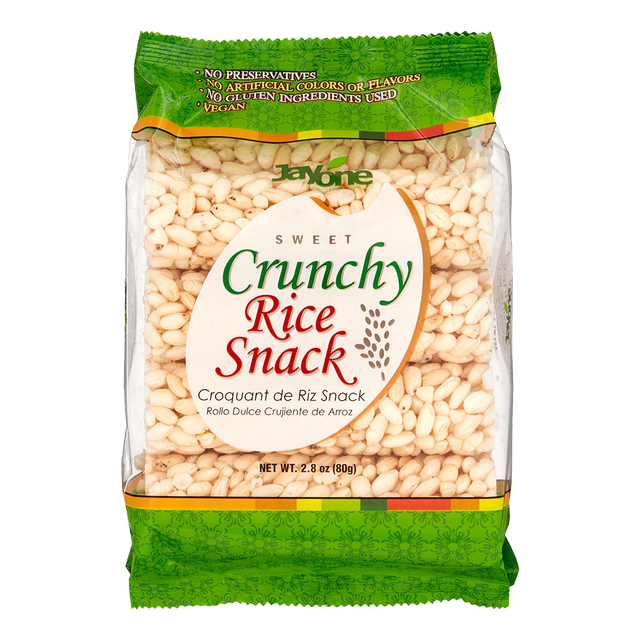 Korea Traditional Healthy Puffed Rice Stick Cracker / Snack