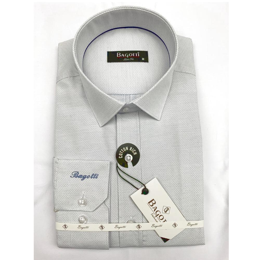 Italy Design Mens Fashion Dress Shirt Custom Made Casual Slim Fit