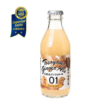 Japanese High quality organic ginger soda beverage