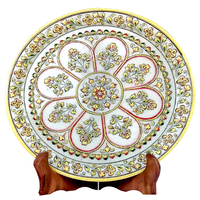 Marble Home Decorative Plate