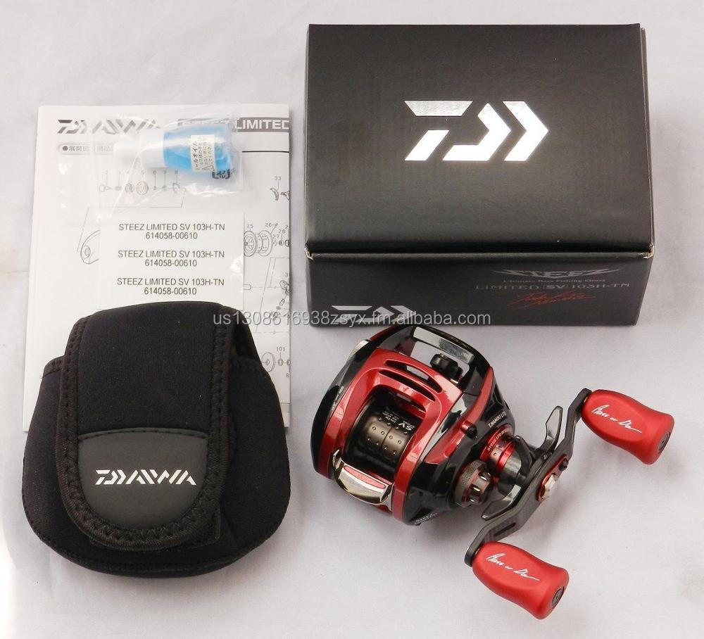 BUY AUTHENTIC 100% Daiwa STEEZ LIMITED SV 103H-TN (RIGHT HANDLE) Bait Casting Reel