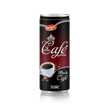 Vietnam coffee manufacturers Black Cafe drink 250ml