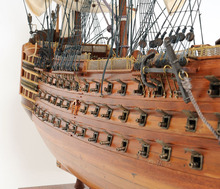 HMS VICTORY L80 cm Handmade wooden ship model