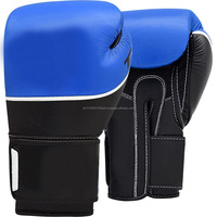 Wholesale cheap price leather boxing gloves