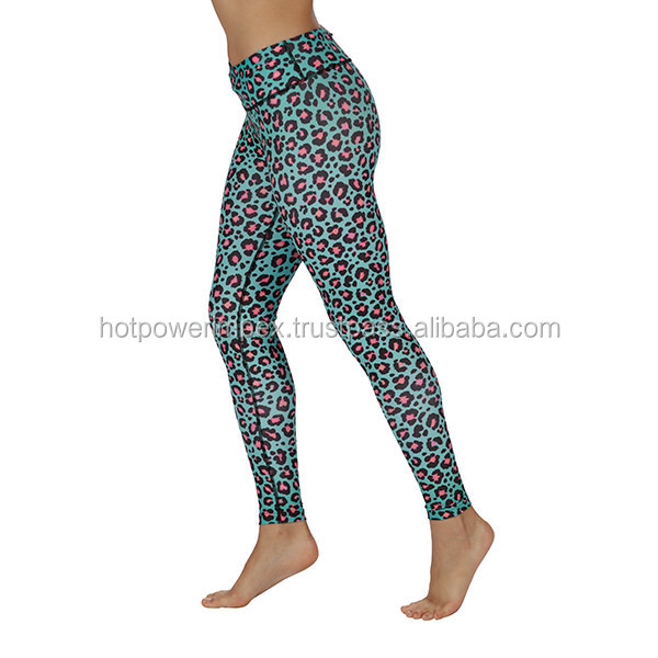 Minty Leopard Leggings collection yoga & gym fitness legging for women