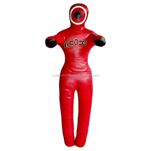 2017 Hanging Straight Style Leather MMA Grappling Dummy High Quality Leather MMA Grappling Dummy