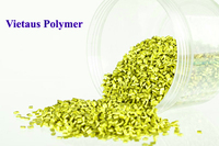 Yellow-green metallic effect masterbatch color for PP/PE/POM/PET/PC/HIPS/ABS/PBT with high quality and reasonable price