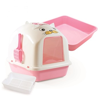870-B2 Sifting Dome Cat Litter Pan with Scoop