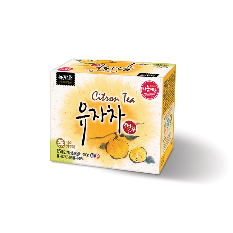 Korean style honey schizandra pomegranate tea