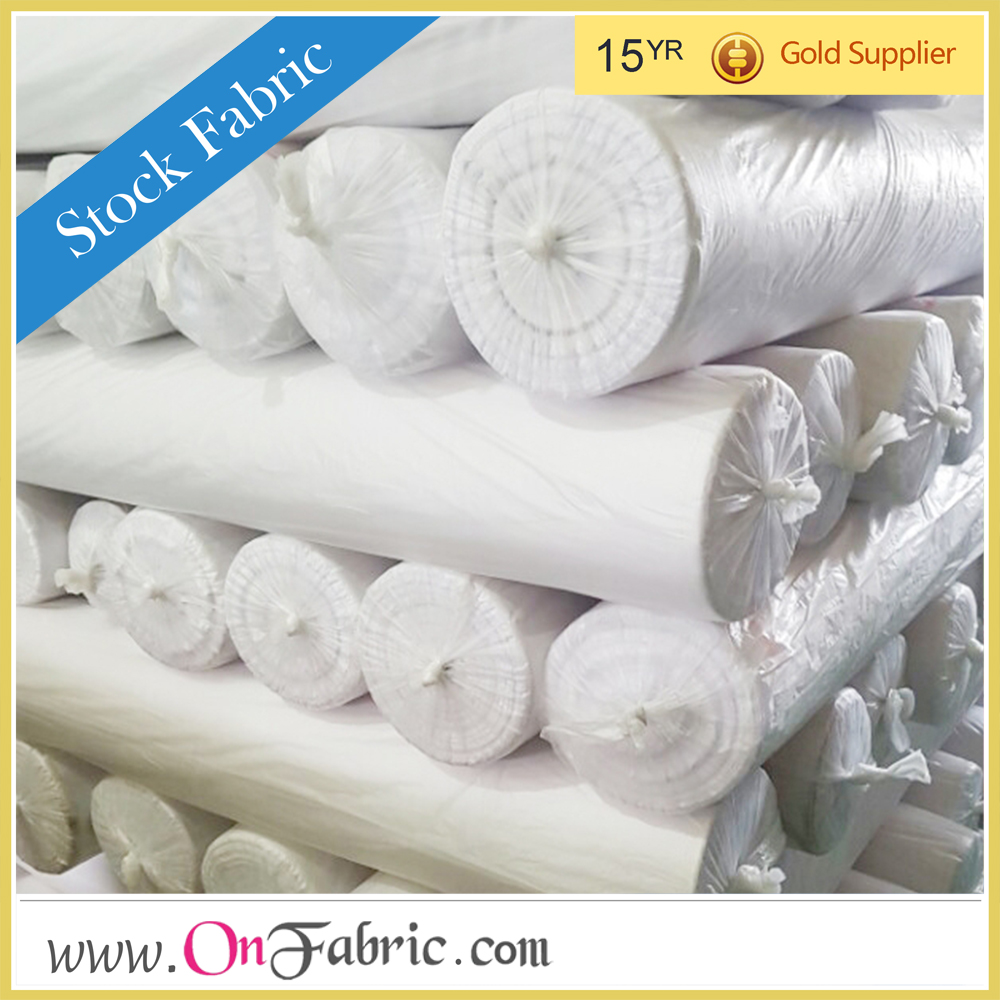 "Cotton Twill 200g/yd White Woven 60"" cotton twill fabric wholesale"