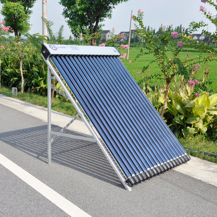 Swimming pool heating heat pipe solar collector for promotion