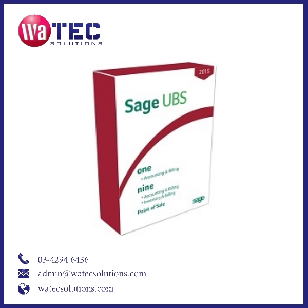 Sage UBS Accounting Software new version with latest GST rules