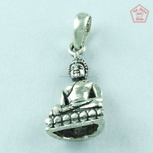 925 Sterling Silver Buddha Pendant, Silver Jewellery Wholesaler & Manufacturer India