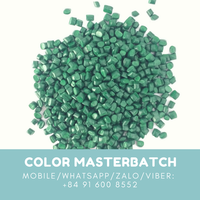 HDPE green master batch for plastic industry, Vietnam manufacturer