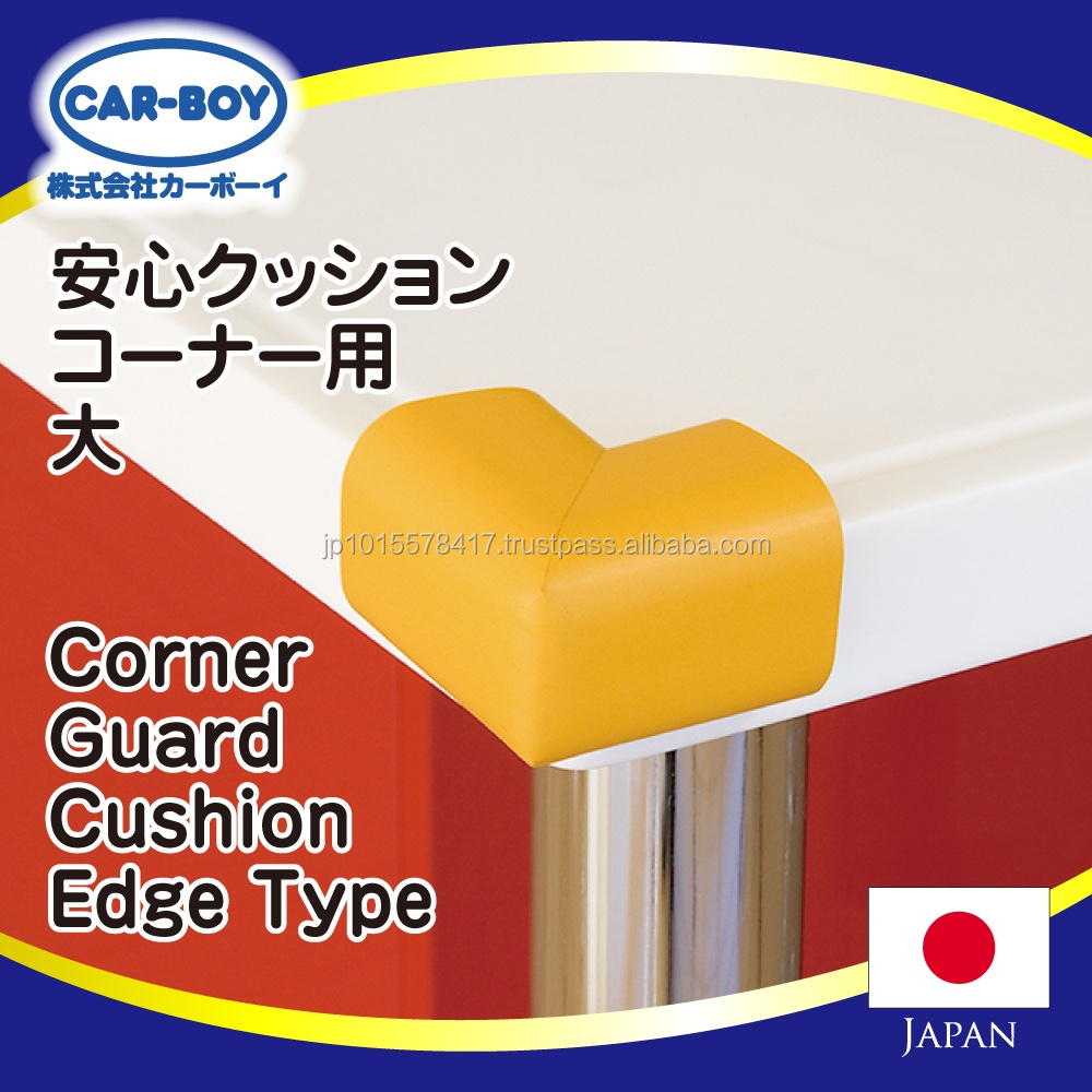Various colors of rubber corner guards baby safety products