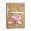 Custom cute Paper craft handmade greeting cards for Baby,birthday