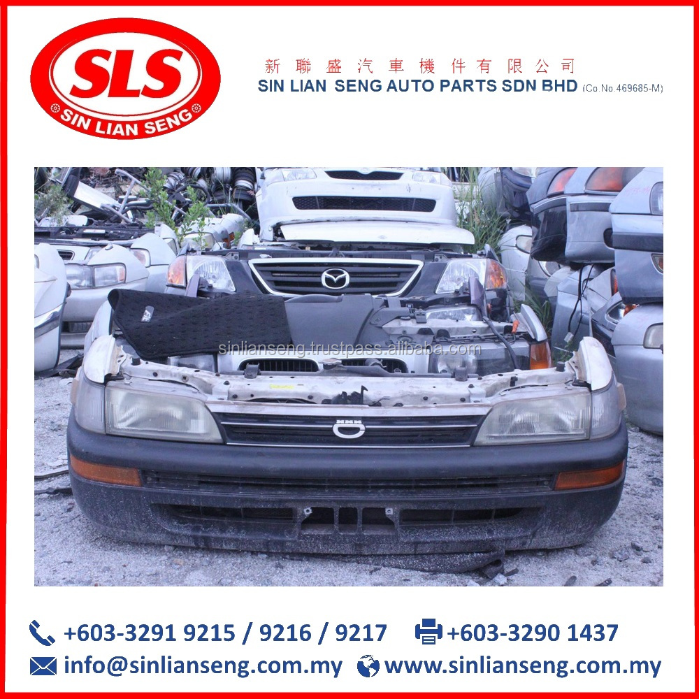 Used NOSE CUT Half Cars From Malaysia