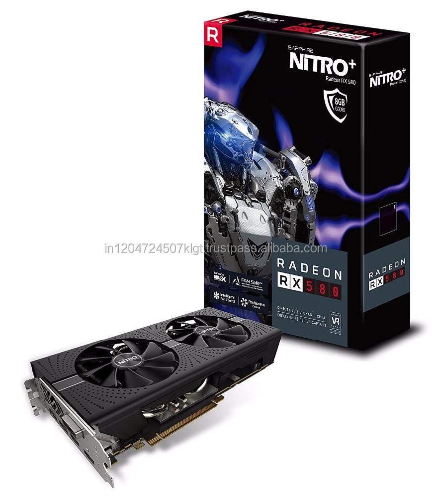 New Sapphire Radeon NITRO +AND MSI AMD DDR5 RX470 RX 480 RX570 rx580 RX 580 8gb Video Card graphics card for Mining