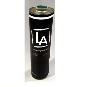 LA - Premium Quality 100% Pure Extra Virgin Olive Oil from Greece - Cold Processed - 4lt Metal Bottle Packaging