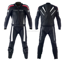 Women Motorbike Leather Suit, 100% Real Cowhide Leather FC-11308