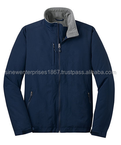 100% Polyester Fabric Jacket With Inner Wool Lining Winter Collection