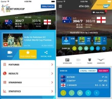 live cricket score news app development
