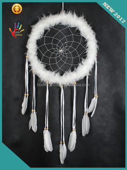 Wholesale top model 2017 wall hanging fabric dream catcher