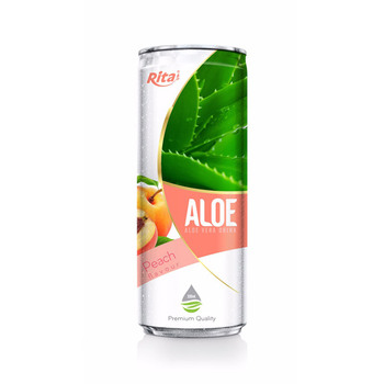 Peach Flavored Aloe Vera Drink