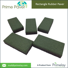 Best Choice Recycled Rubber Patio Pavers Manufacturer