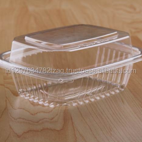 Food grade salad container
