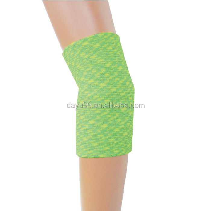 Newest Elbow compression support sporting space-dyed yarn support Made in Taiwan