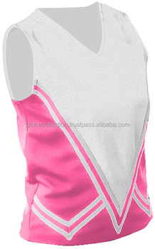 Cheer Girls Skirt Sublimation Custom Girls Cheer Uniforms