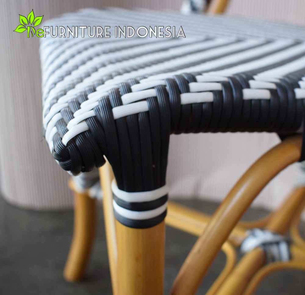 rattan chair indoor and outdoor furniture synthetic rattan material with original rattan frame