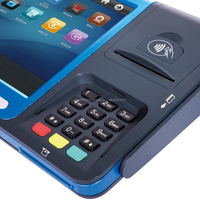 Credit Card Android POS payment terminal GPRS Thermal Printer Barcode scanner