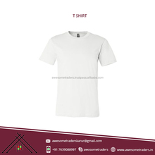 Wholesale India Manufacturer Supply Low Price Round Neck New Pattern Blank T-Shirts