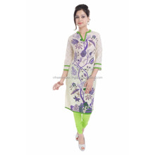 Branded cotton designer printed casual wear kurti