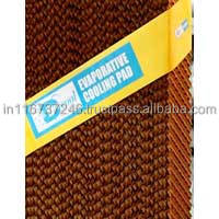 Industrial cooler evaporative honey comb cooling pad for greenhouse/poultry farm