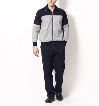 Men's Athletic Tracksuit Full Zip Warm Jogging Sweat Suits